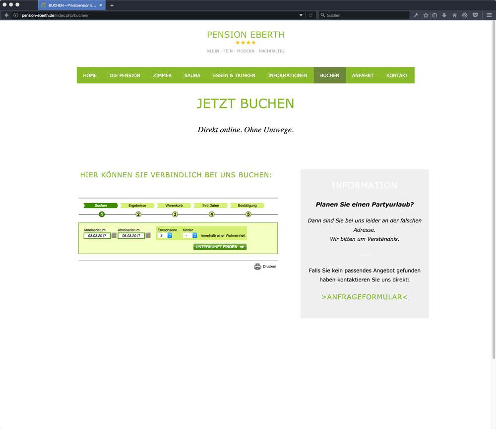 Eberth Internetseite Buchen