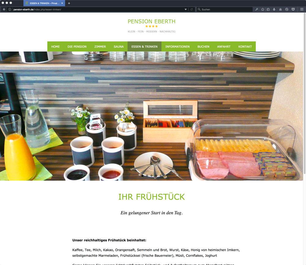Eberth Internetseite Essen