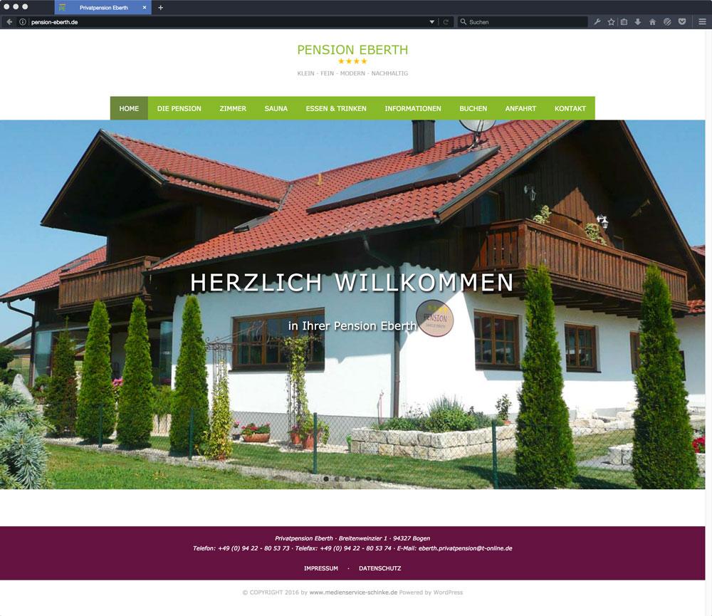 Eberth Internetseite Homeseite