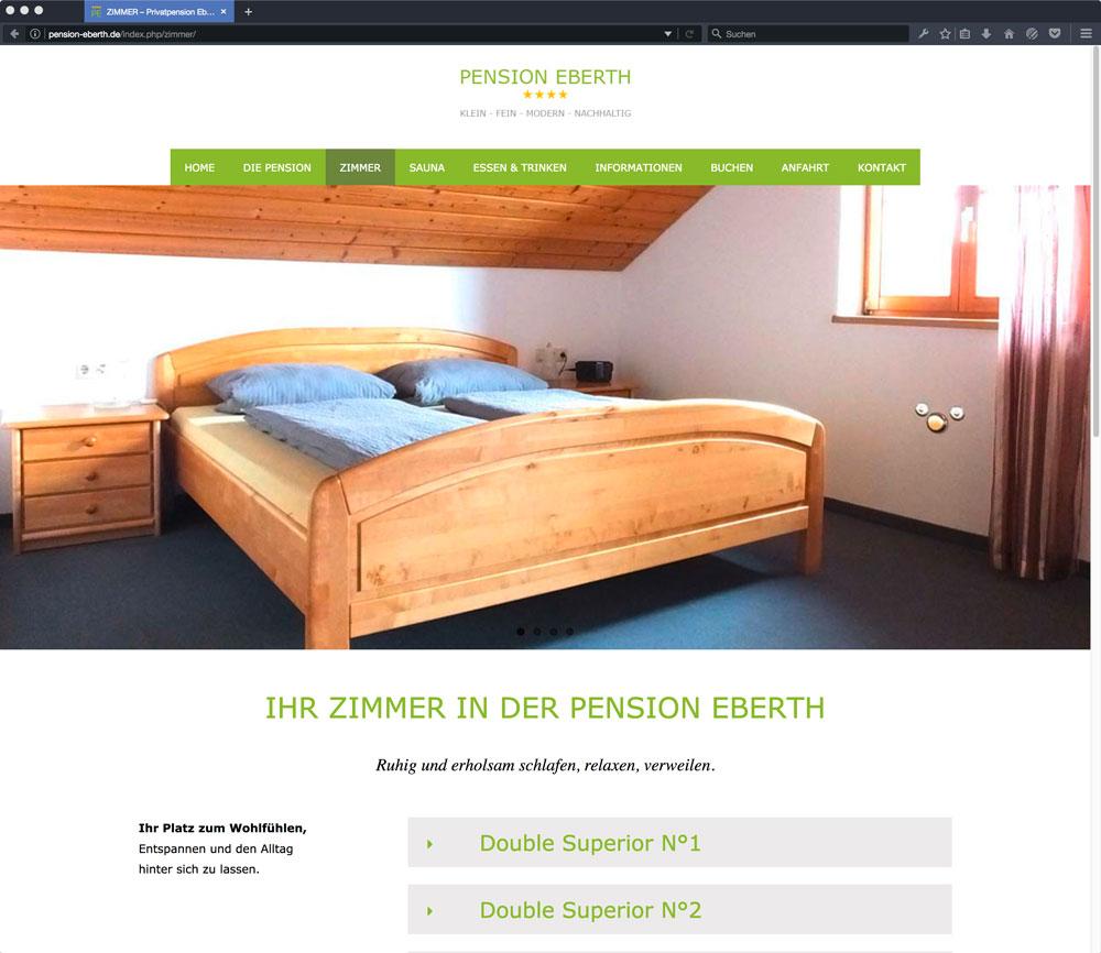 Eberth Internetseite Zimmer