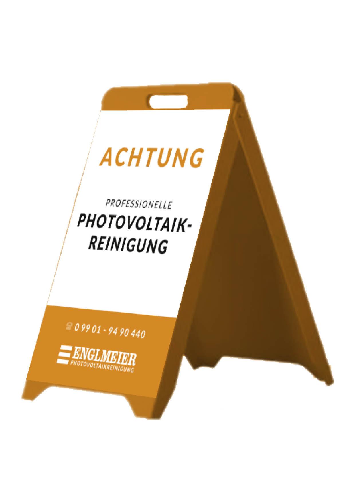 Englmeier Photovoltaikreinigung Aufsteller