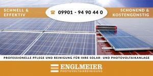 Englmeier Photovoltaikreinigung Banner 6m
