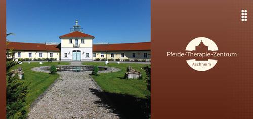 Prospekt Pferdetherapiezentrum Aschheim Titelseite