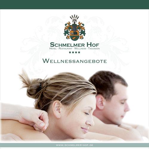 Schmelmer Hof Prospekt Wellness Titelseite