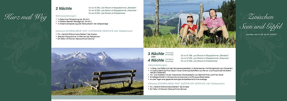 Schmelmer Hof Prospekt Arrangements