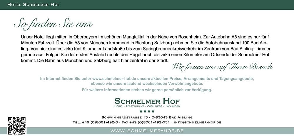 Schmelmer Hof Hausprospekt