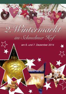 Schmelmer Hof Flyer Wintermarkt
