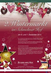 Schmelmer Hof Poster Wintermarkt