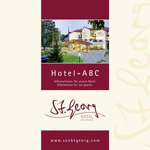 St Georg Prospekt Hotel ABC Titelseite