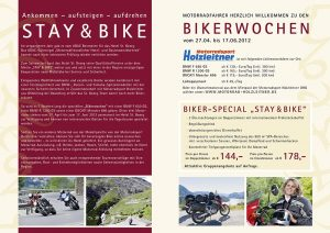 St. Georg Flyer Stay & Bike