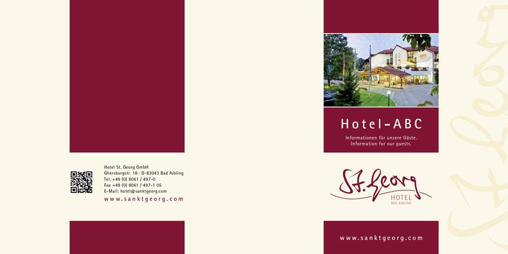 St Georg Prospekt Hotel ABC Titel- und Rückseite