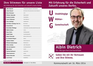 UWG Faltblatt