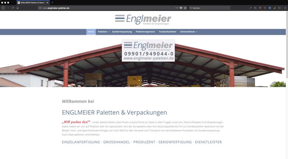 Englmeier Website Startseite