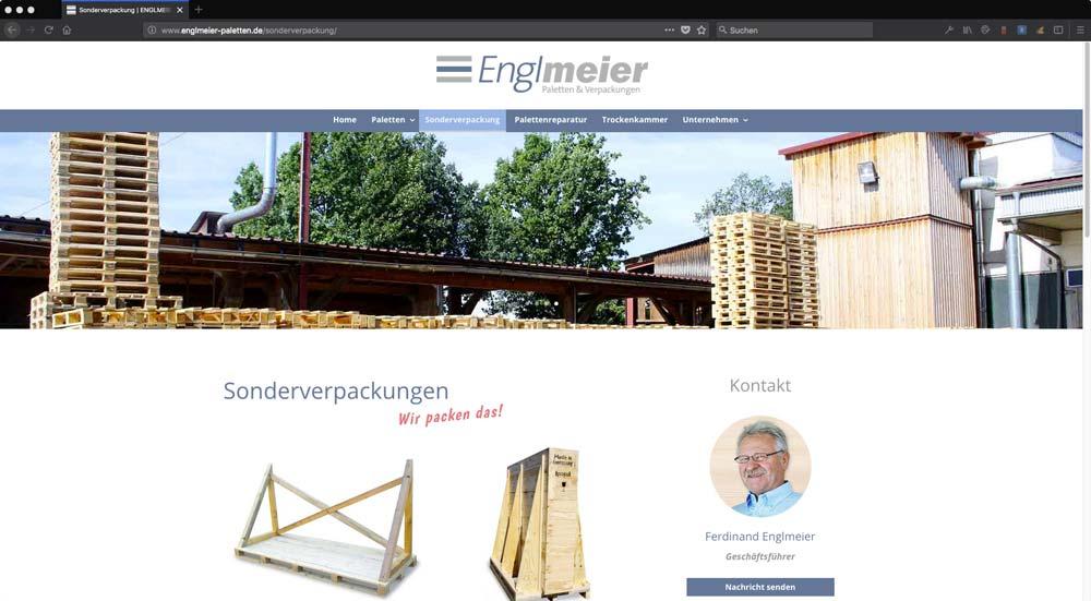 Englmeier Website Sonderverpackung