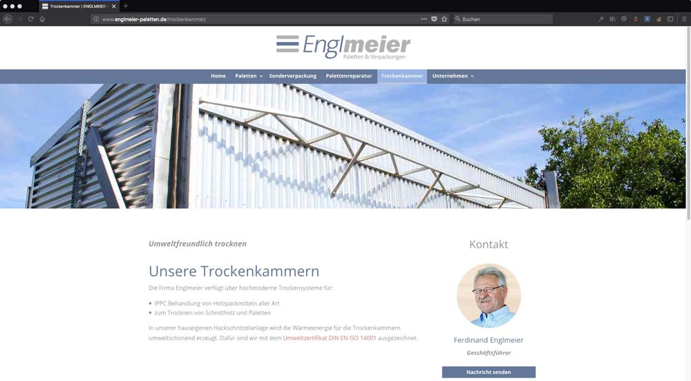 Englmeier Website Trockenkammer